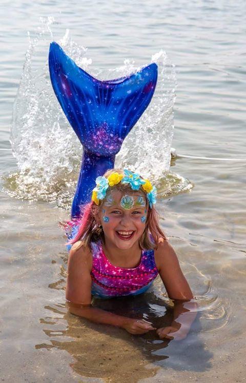 Zeemeermin staart Mermaid Sisters