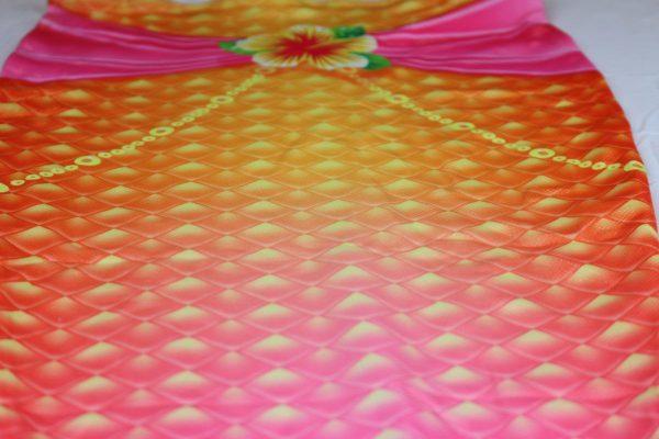 Zeemeerminstaart Prinses Isa met topje closeup