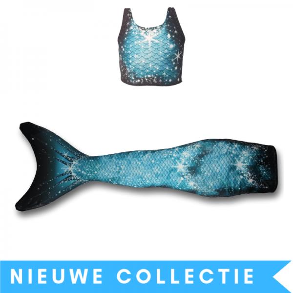 Zeemeermin staart met monovin-Sparkle-Splash