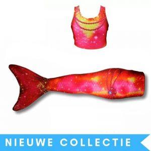 Zeemeermin staart prinses-bella-inclusief-topje