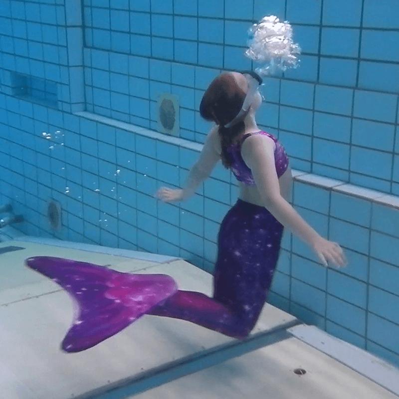 Zeemeermin zwemmen
