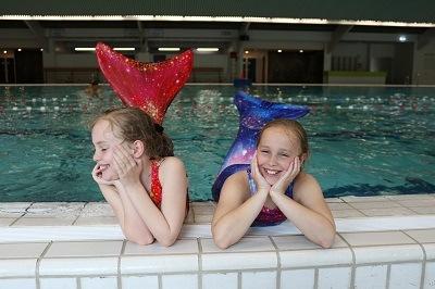 De Mermaid Sisters Tara en Isa