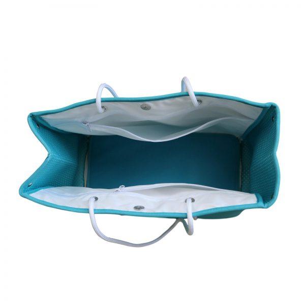 zeemeermin staart tas bovenkant open