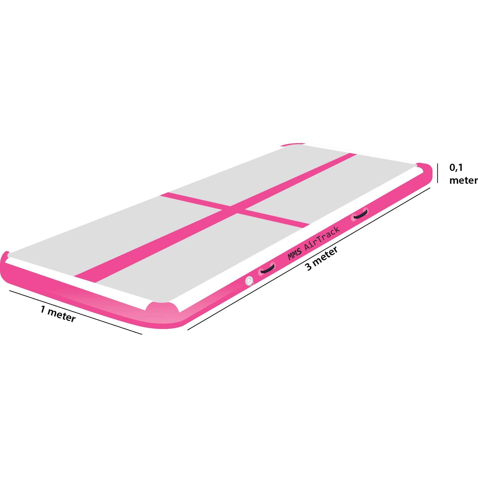 Airtrack 3 met x 1 x 0,1 roze