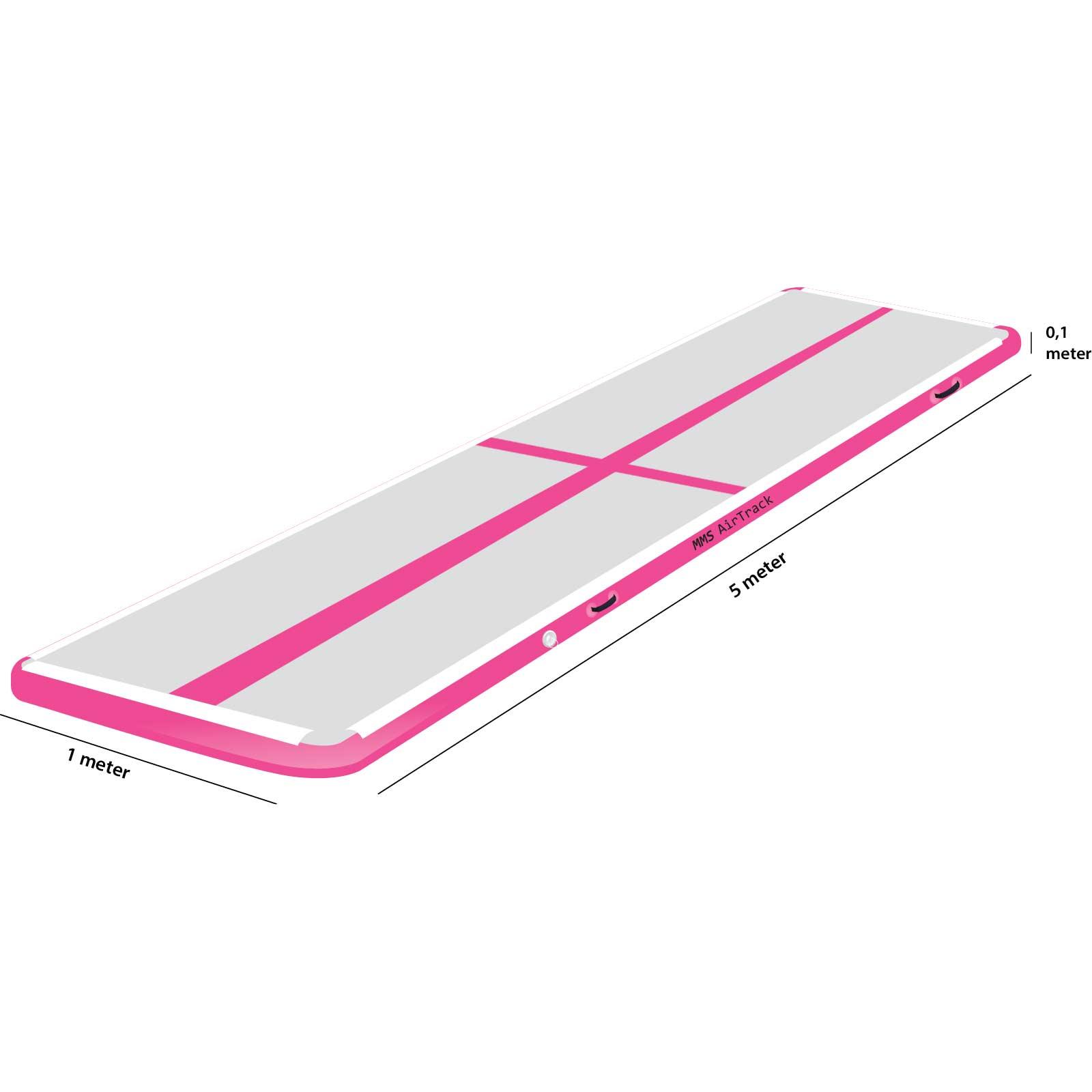 Airtrack 5 met x 1 x 0,1 roze