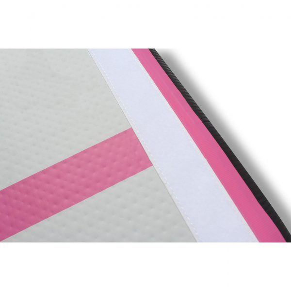 MMS Airtrack 2 meter breed roze closeup