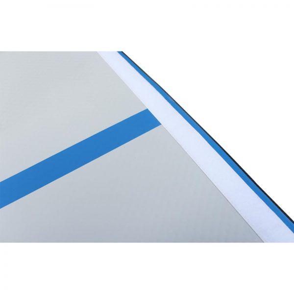 MMS Airtrack 3 meter blauw closeup klittenband